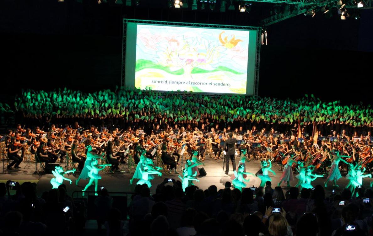 El Auditorio Rocío Jurado de Sevilla acogió 'Madre Naturaleza', el concierto final de Proyecto Luna