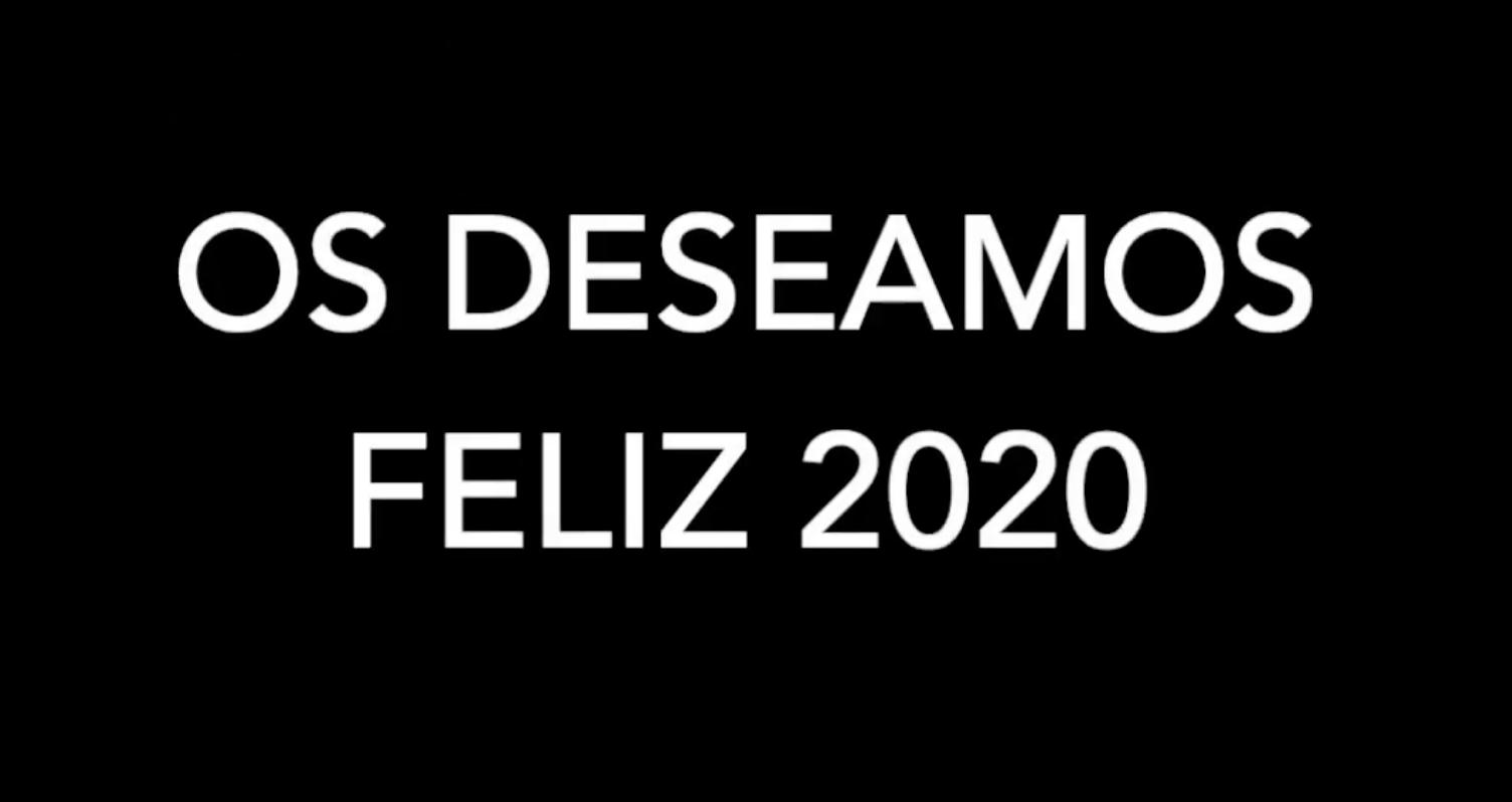 ¡Feliz 2020!